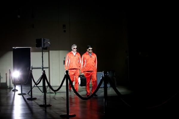 HubSpot co-founders Brian Halligan & Dharmesh Shah's entrance