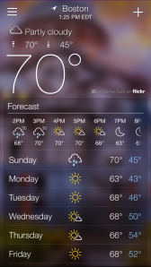 Yahoo Weather App 3