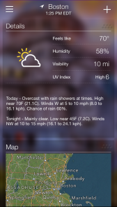 Yahoo Weather App 4