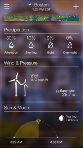 Yahoo Weather App 5